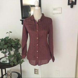 J. Jill Long Sleeve Button Down Shirt